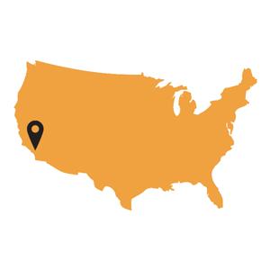Grateful Dead Fillmore Auditorium San Francisco CA - San francisco in us map