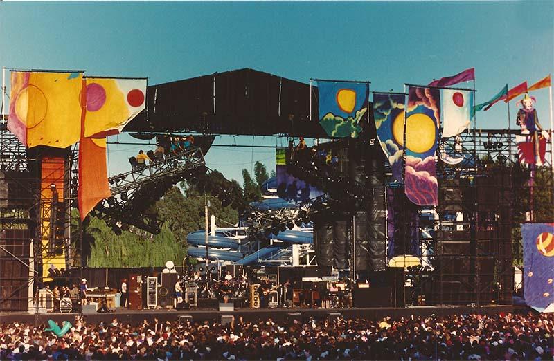 Cal Expo, Sacramento, CA – 06/08/1990 | Jerry Garcia