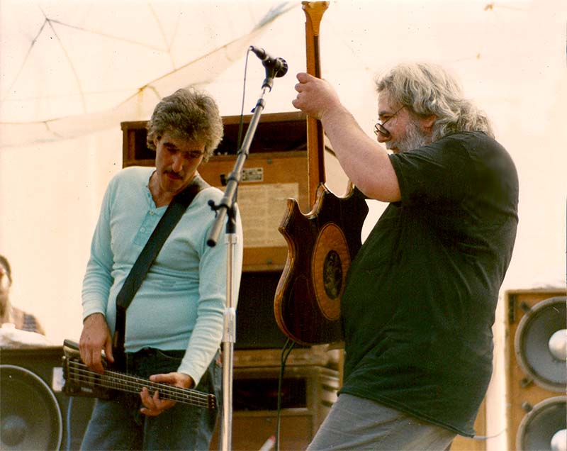 Jerry Garcia Band - 1987-08-29 Frenchs Camp On The Eel -2187