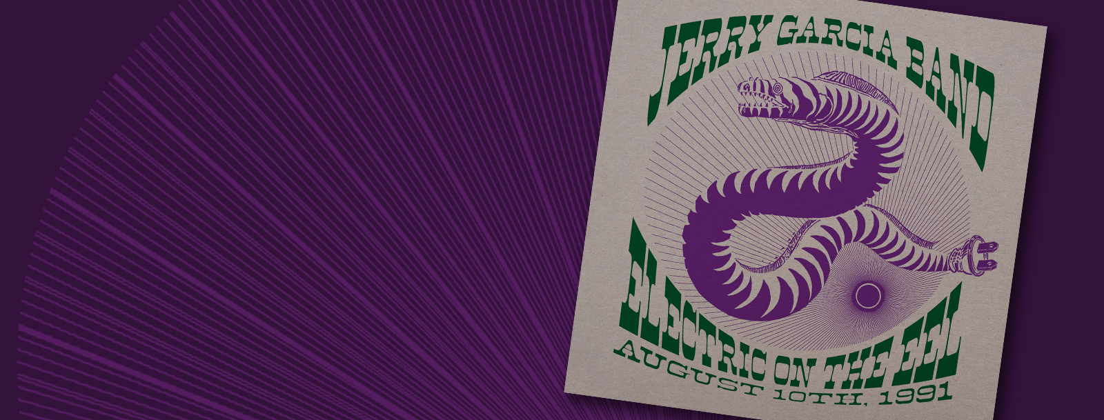 0ab1a67b Jerry Garcia Band Live On Vinyl! ELECTRIC ON THE EEL: ...