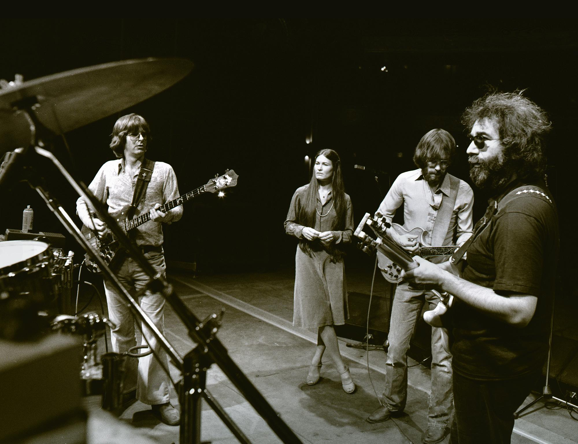 Grateful Dead Soundcheck Boston Garden 05 07 1977