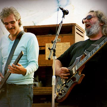 Shows Jerry Garcia