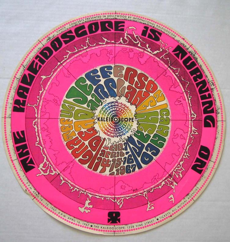 Kaleidoscope Ca: 1967-04-15 Kaleidoscope, Hollywood, CA