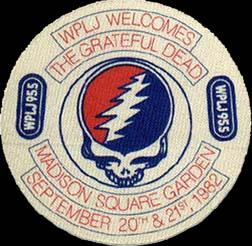 Grateful Dead 1982 09 20 Madison Square Garden New York Ny Usa Jerry Garcia