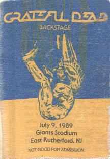 East Rutherford Nj >> Grateful Dead - 1989-07-09 Giants Stadium, East Rutherford, NJ, USA | Jerry Garcia